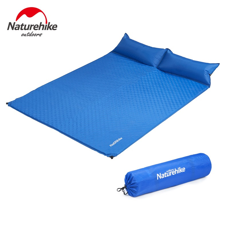 Couple Inflatable Mat With Pillow Updated Pack4outdoor