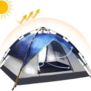 Automatic hydraulic Sky Starry tent (3pax)
